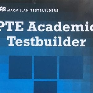 Sách luyện thi PTE Academic Test builder