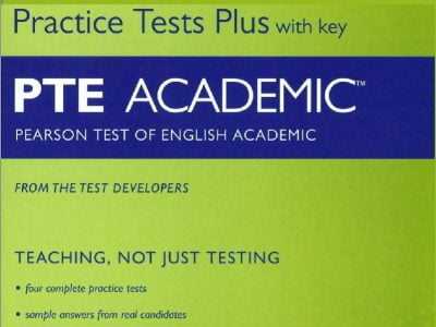 Sách luyện thi PTE Academic Practice Tests Plus with CD Rom
