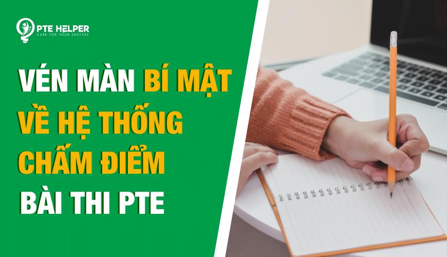 hệ thống chấm điểm PTE Academic