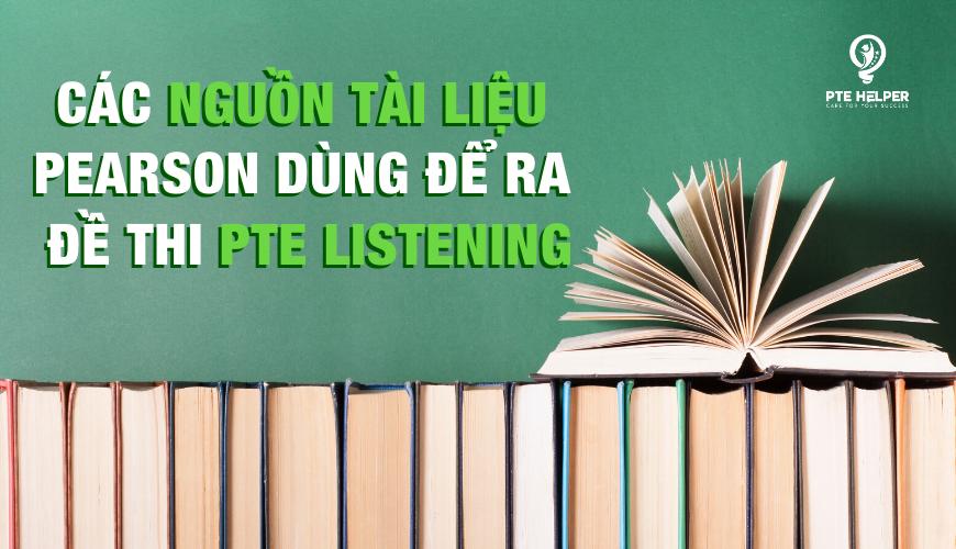Tài liệu PTE Listening