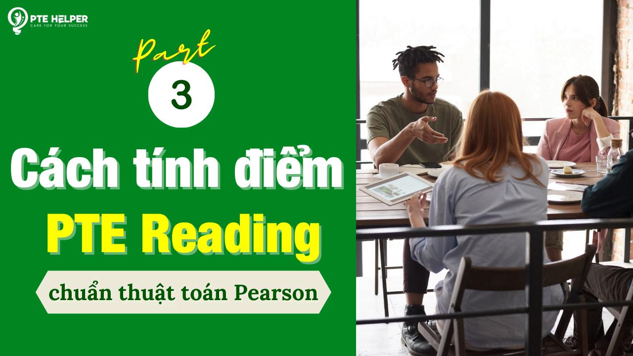 cách tính điểm pte reading