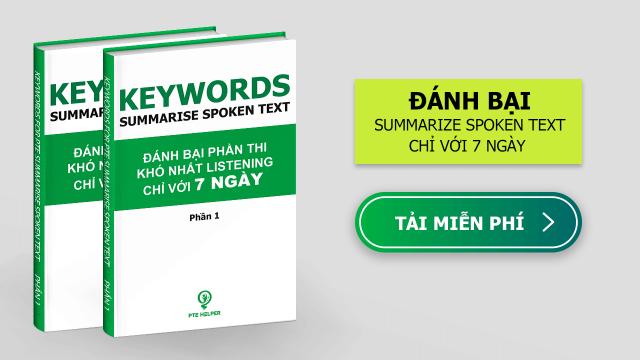 Tài liệu PTE Summarize Spoken Text
