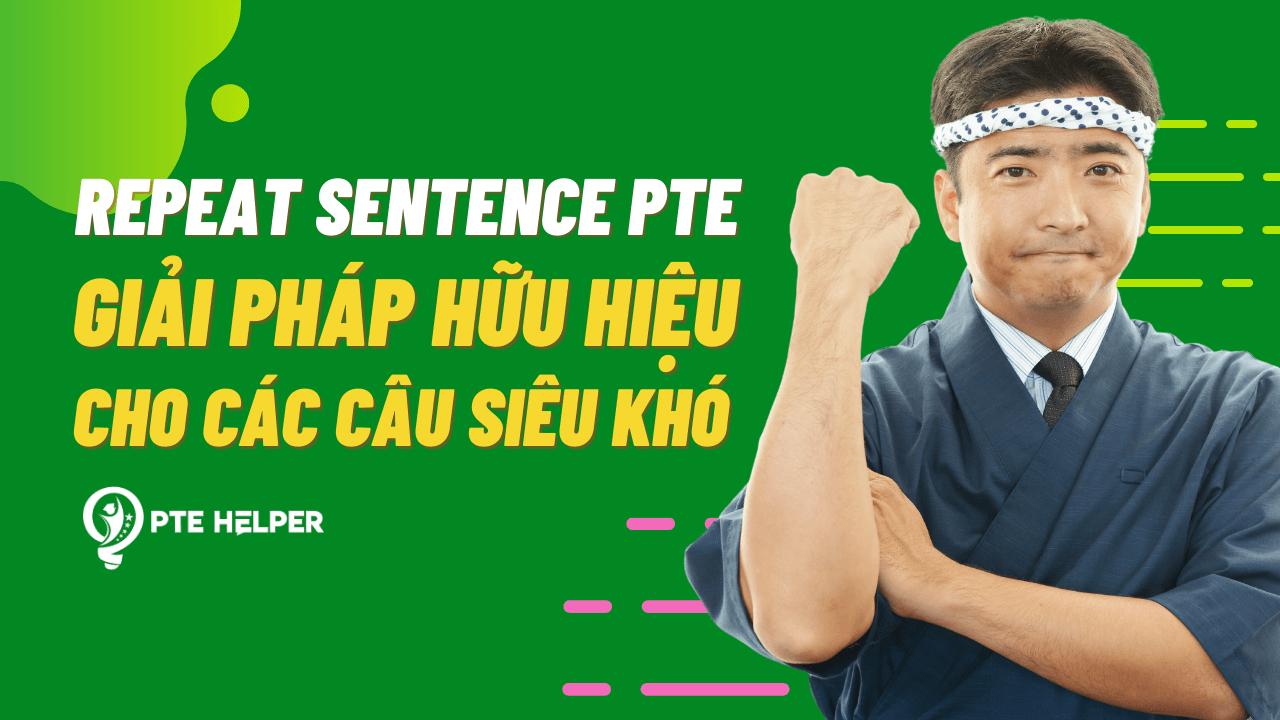 Repeat Sentence PTE