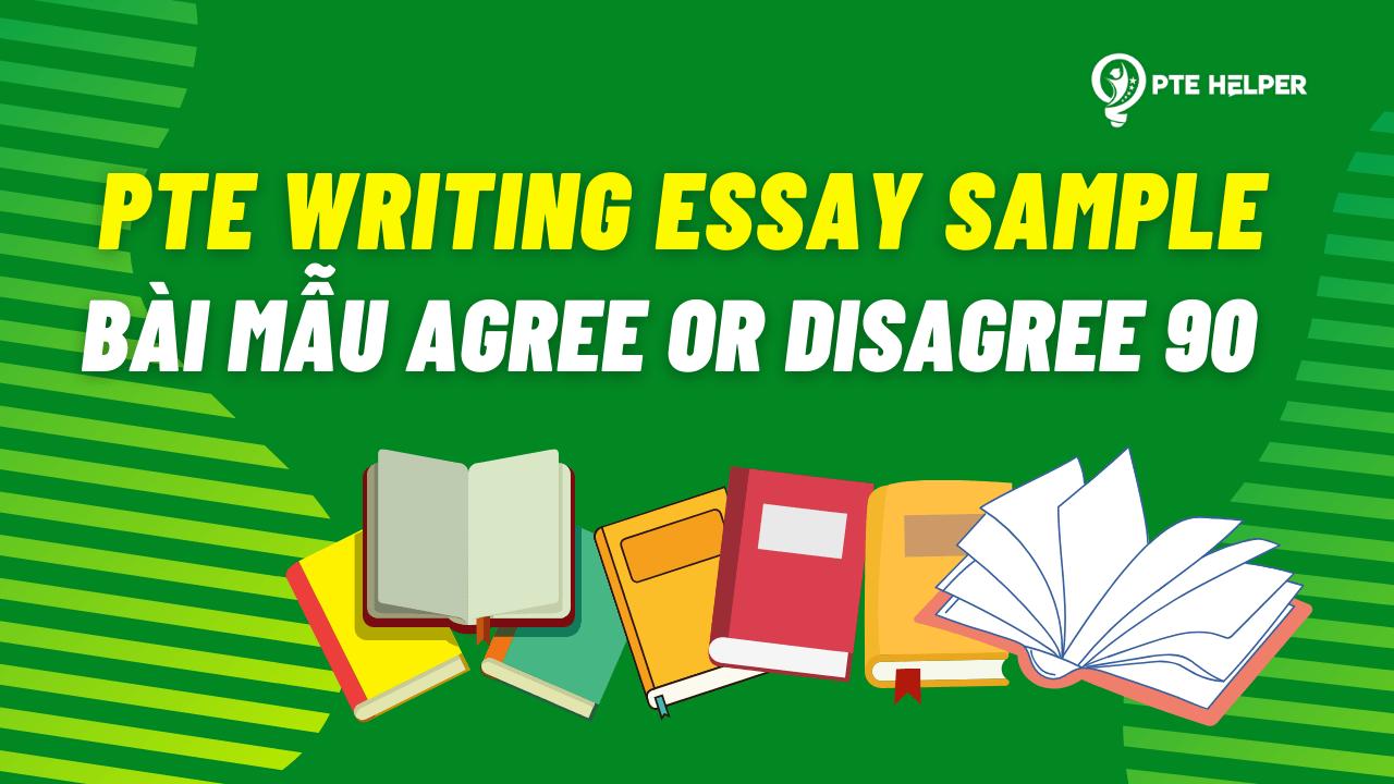 PTE writing essay sample