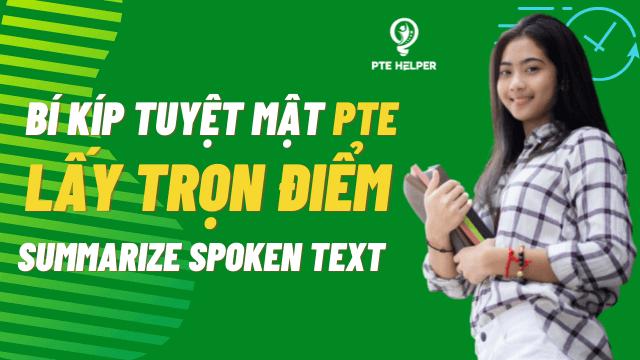 pte listening summarize spoken text tips
