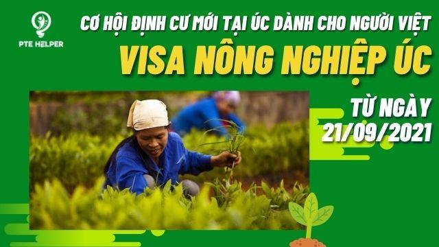 visa nông nghiệp úc